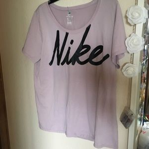 Nike light purple tshirt